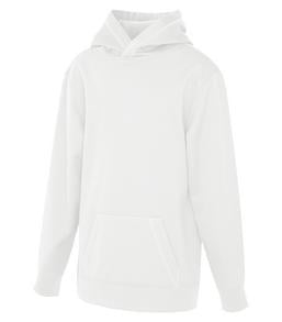 WHITE ATC GAME DAY FLEECE HOODED YOUTH SWEATSHIRT. Y2005