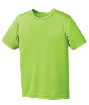 LIME SHOCK ATC PRO TEAM YOUTH TEE. Y350
