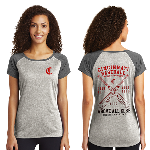 Cincinnati's Pastime Ladies Tee