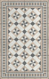 "Vinyl Floor Mat - ""Blue Gothic"" Collection - Fishes & Loaves"