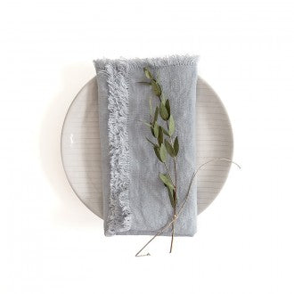 Linen Napkins - Fringe Collection - Fishes & Loaves