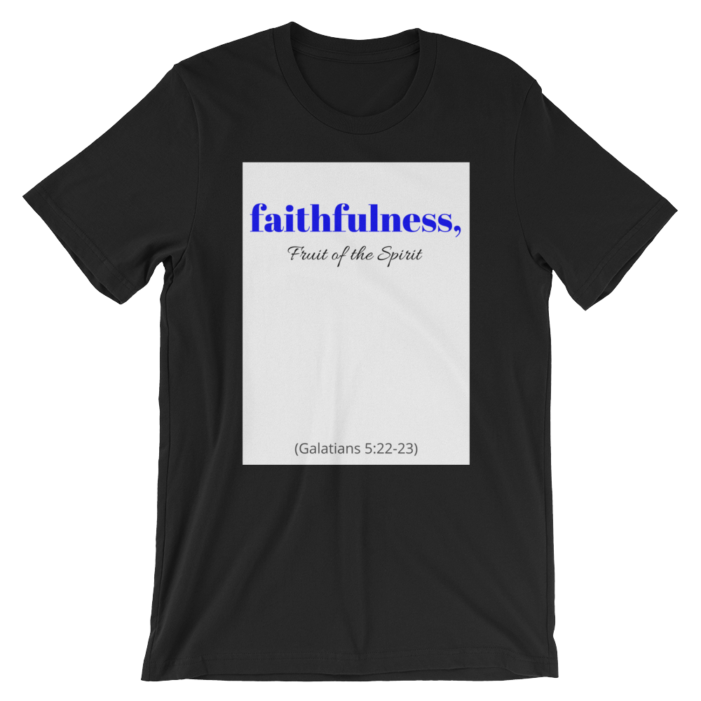 Fruit of the Spirit- Faithfulness Men's T-Shirt