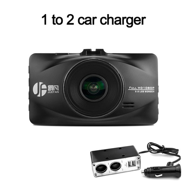 1080p auto camera 3.0 inch Parking monitoring dashcam - MAXELAR