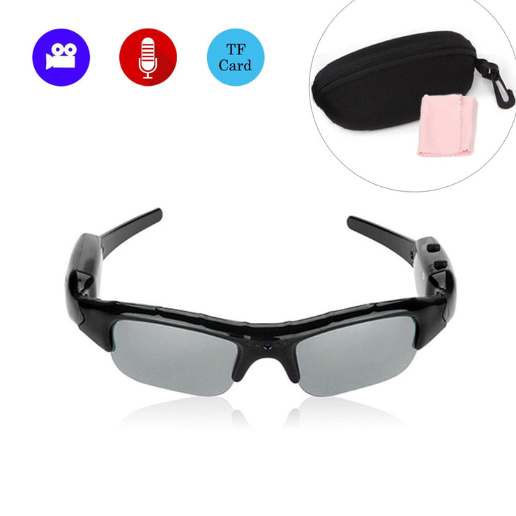 Glasses Camera Outdoor Sports Mini Polarizer Sunglasses Camcorder - MAXELAR