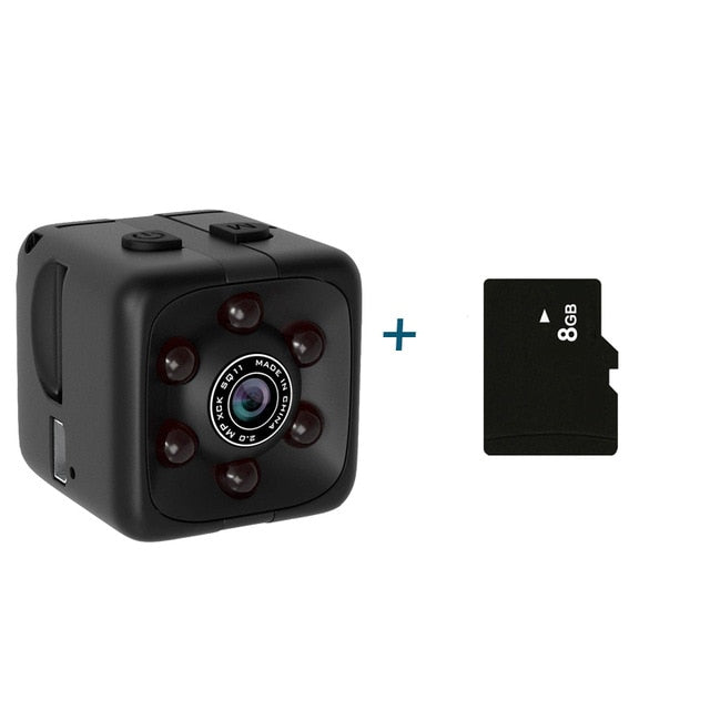 SQ11 Pro Mini Camera 1080P Sensor Portable Security Camcorder - MAXELAR