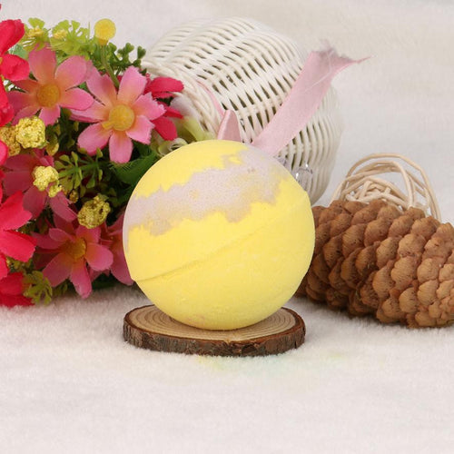 Home Hotel Bathroom Bath Ball Bomb Honey Aroma Type Bath Bombs Ball Body Cleaner Natural Sea Salt Bath Bombs Gift #622