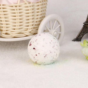 Small Size Home Hotel Bathroom Bath Ball Bomb Aromatherapy Type Body Cleaner Handmade Bath Salt Gift 43G Diameter: 4cm #622