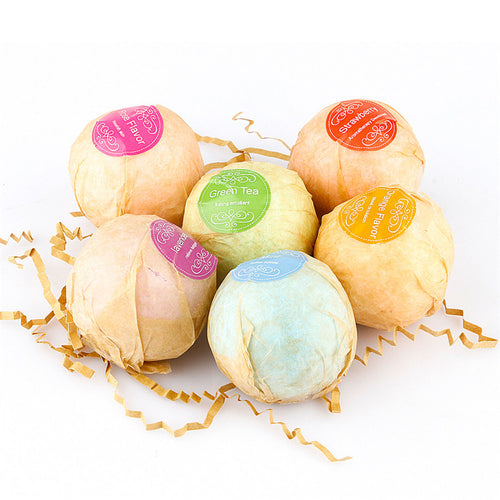 bubble Organic Bath Bombs Bubble Bath Salts Ball Essential Oil Handmade SPA Stress u71031