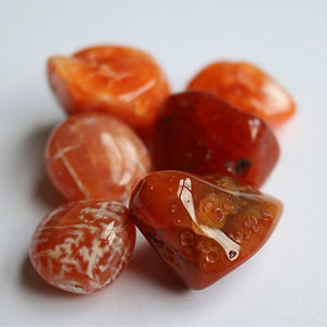 Carnelian Tumbled Stones - little-gems-metaphysical-store