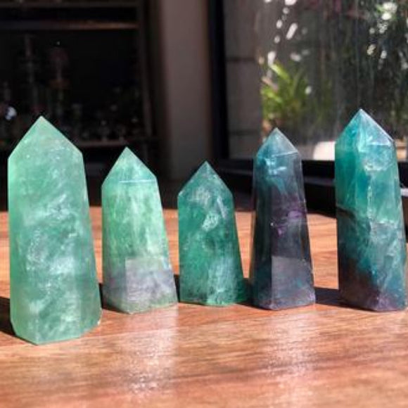 Green Fluorite Generators - little-gems-metaphysical-store