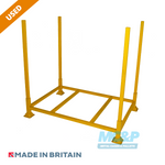 Metal/Steel Refurbished Open Post Stillage (Pallet) with Demountable Legs - USED product 1