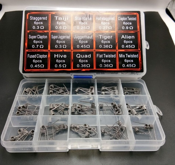 90 Piece pre made coil set.