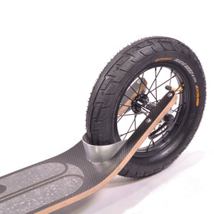 Boardy Black Carbon Kick Scooter (Special Edition)
