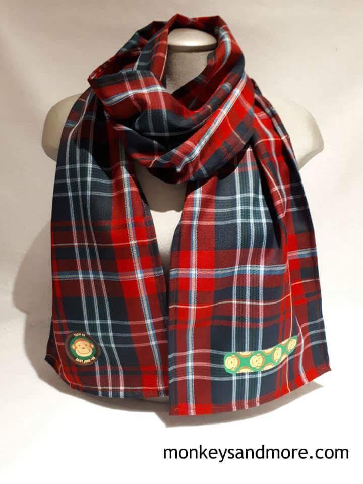New Brunswick Tartan Monkey Scarf