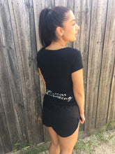 The Black 'Booty' Shorts