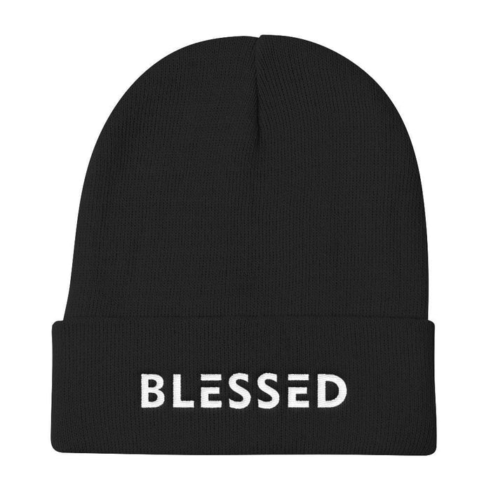 Blessed Knit Beanie - One-size / Black - Hats