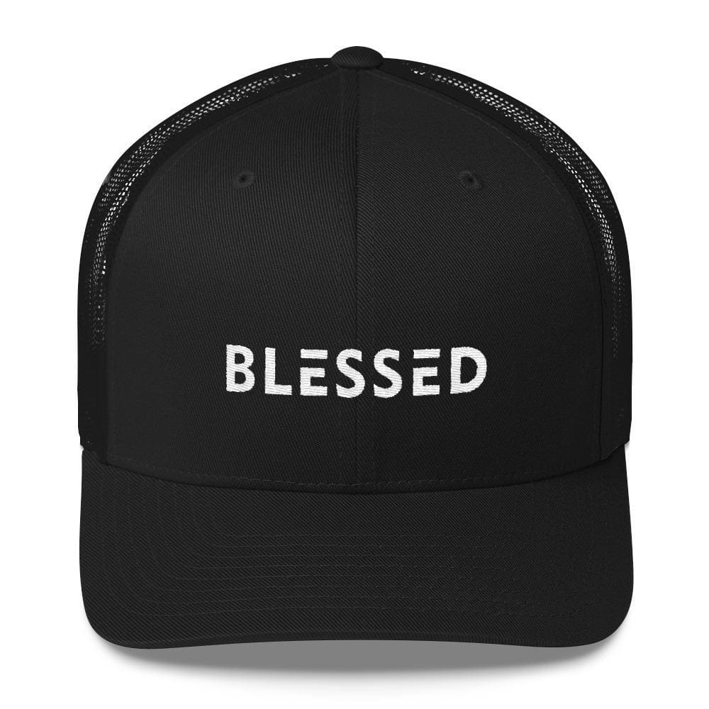 Blessed Snapback Trucker Hat - One-size / Black - Hats