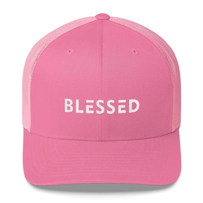 Blessed Snapback Trucker Hat - One-size / Pink - Hats
