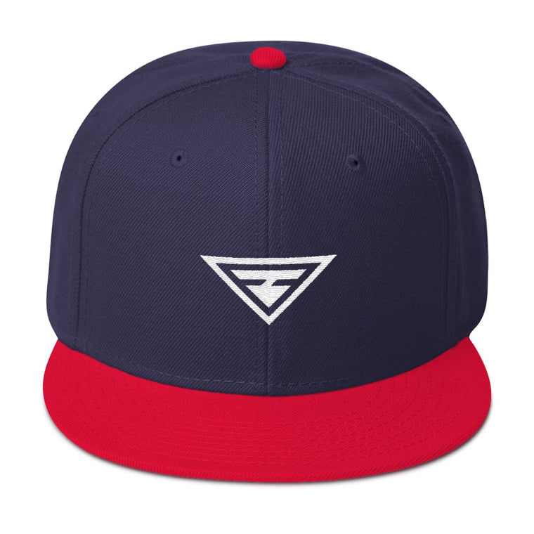 Hero Wool-Blend Flat Brim Snapback Hat