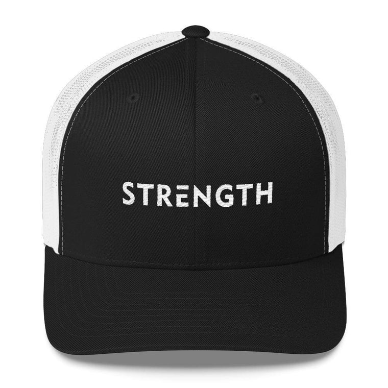 Strength Snapback Trucker Hat