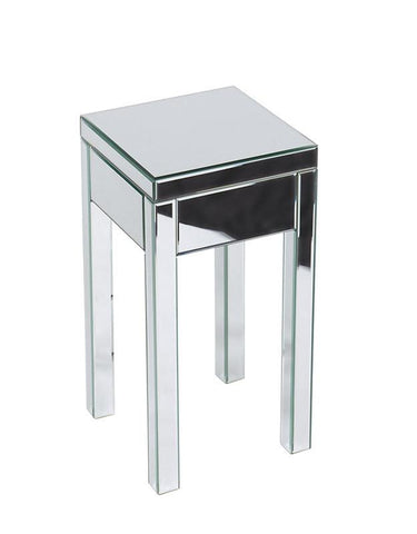 Office Star Ave Six REF09-SLV Reflections End Table - Peazz Furniture