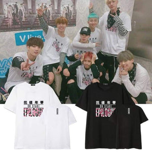BTS Flower On Stage Epilogue T-shirt - T-shirt