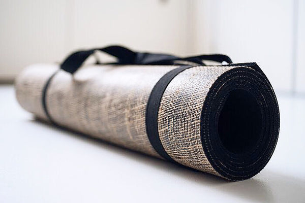 Eco Friendly Yoga Mat - Macrame YOGA MAT - Homeware Live Whole Yoga - Sustainable LekkerProject - Lekker Project