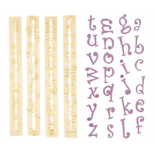 FMM Funky Tappit Cutters Lowercase Alphabet