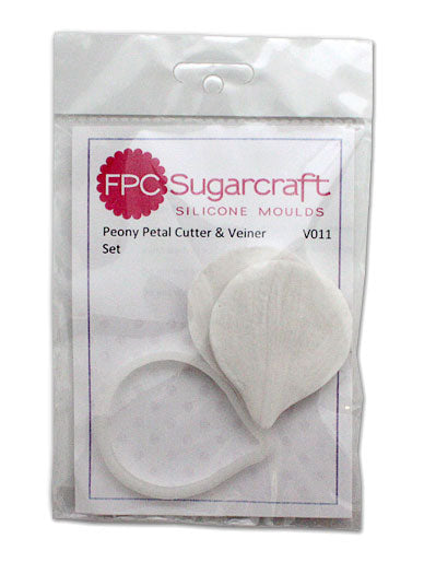 Peony Petal Cutter and Veiner Set FPC