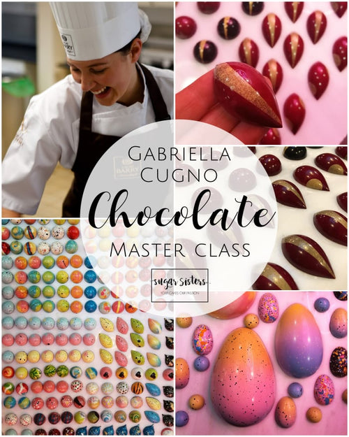 Chocolate Master Class - Guest Teacher Gabrielle Cugno - May 25th