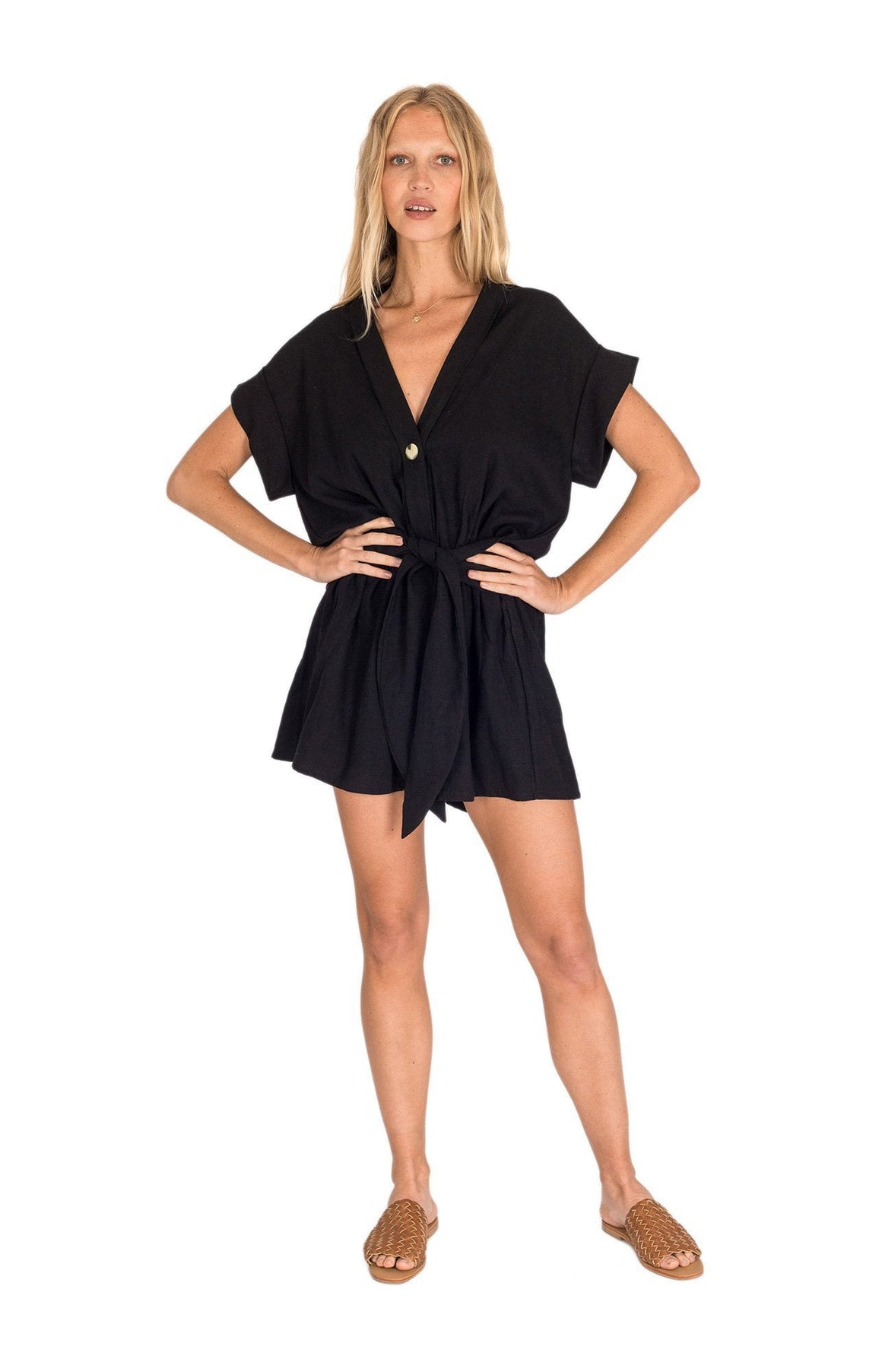 Ollie Playsuit - Black