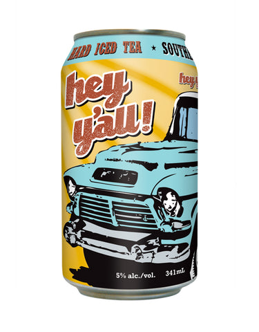 Hey Y'all Southern Style Iced Tea - 6 Cans