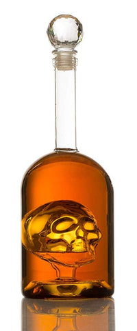Commandeer Brand Skull Decanter Amazon Affiliate Link