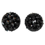 Crocodile Button 12mm Earrings
