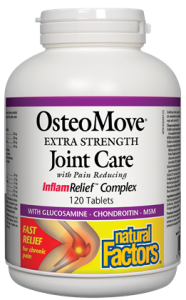 Natural Factors, OsteoMove, Extra Strength, Joint Care, 120 tab