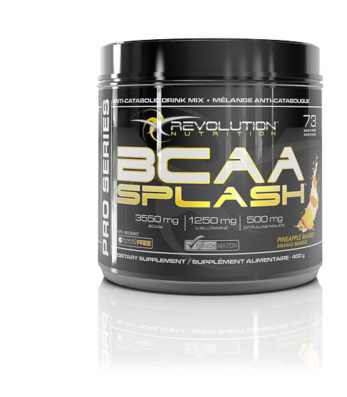 Revolution Nutrition, BCAA Splash, 400 grams