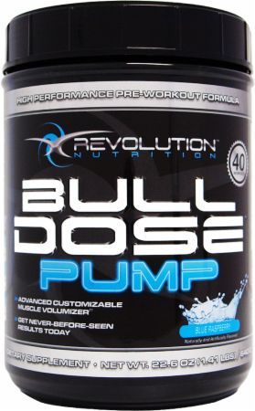 Revolution Nutrition, Bulldose Pump, 640 grams