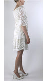 IVY Bell Sleeves On/Off Shoulder Knee Length Flare Dress
