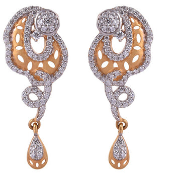Khimji Gold Earrings- KD/ER-0027