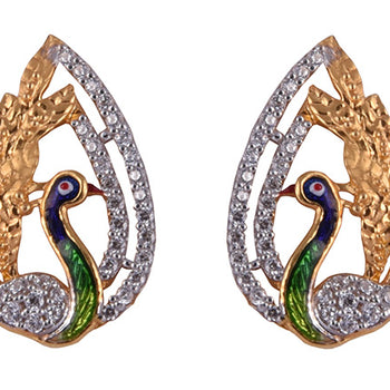 Khimji Gold Earrings- KD/ER-0034
