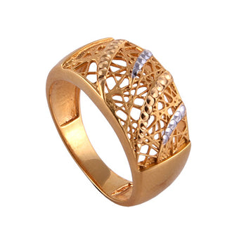 Khimji Gold Ring - KD-LRCST-0014