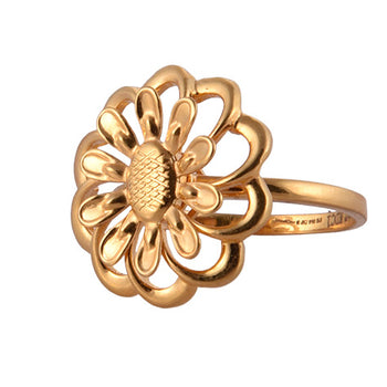 Khimji Gold Ring - KD-LRCST-0016