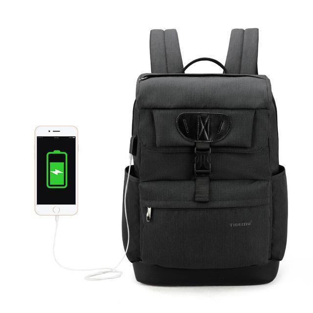 TGN® Mastermind USB Charging Backpack - JSEJ Styles