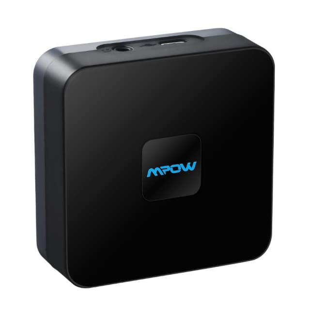 Mpow updated Streambot Box Bluetooth Speaker Audio APT-X - China / Black - Portable Speakers