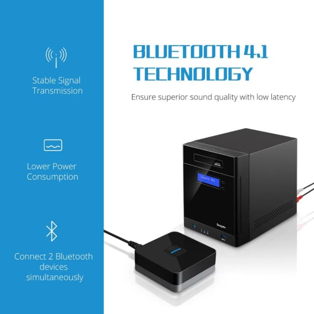 Mpow updated Streambot Box Bluetooth Speaker Audio APT-X - Portable Speakers