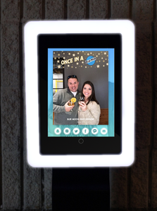 Wave Photo Booth Faceplate