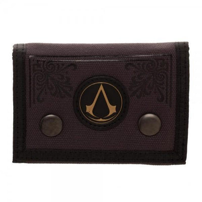 Assassin's Creed Canvas Tri-Fold Wallet - Dood Gear