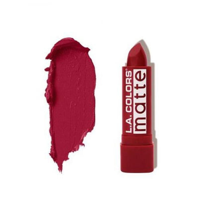 L.A. COLORS Matte Lip Color - Relentless Red