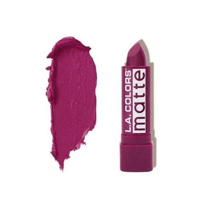L.A. COLORS Matte Lip Color - Stay Put Plum