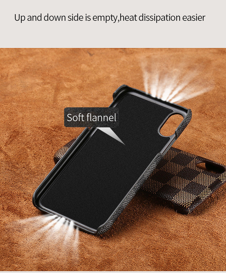 Genuine Leather iPhone Case